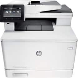 HP laserjet pro M477fdn colour laser all-in-one printer