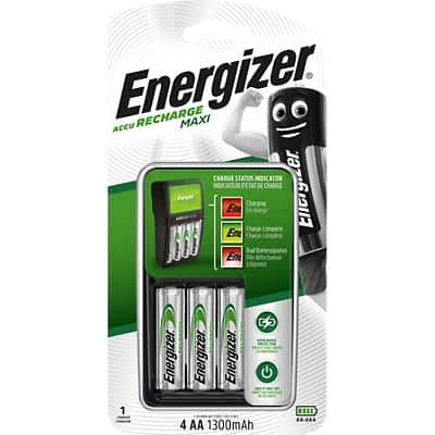 Energizer Maxi Battery Charger for 4AA/AAA