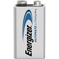 Energizer 9V Batteries 6CR61 Ultimate Lithium
