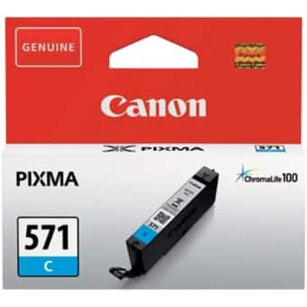 Canon CLI-571C Original Ink Cartridge Cyan