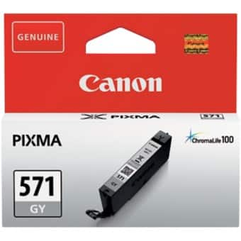 Canon CLI-571GY Original Ink Cartridge Grey
