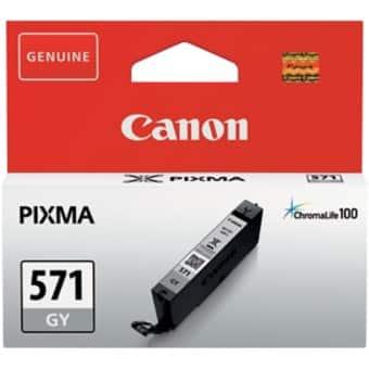 Canon CLI-571GY Original Ink Cartridge Grey