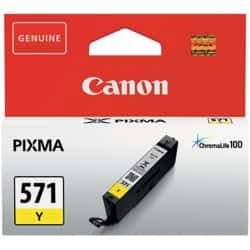 Canon CLI-571Y Original Ink Cartridge Yellow