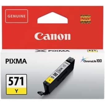 Canon CLI-571Y Original Ink Cartridge Yellow