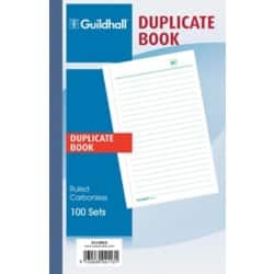 Guildhall Duplicate Book 2113DLZ 100 sheets