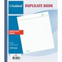 Exacompta Ruled Duplicate Book 308Z A5 100 Sheets