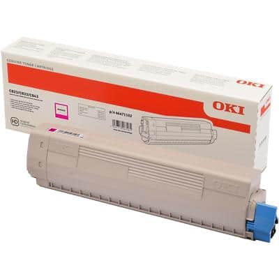 OKI 46471102 Original Toner Cartridge Magenta