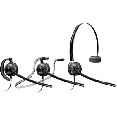 Plantronics HW540 EMEA Corded Headset Black