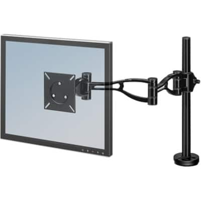 Fellowes Monitor Arm 8041601 Height Adjustable 32 Inch Black