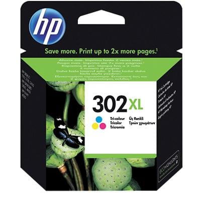 HP 302XL Original Ink Cartridge F6U67AE 3 Colours
