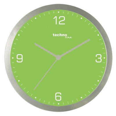 TechnoLine Analog Wall Clock WT 9000 30 x 3.3cm Green