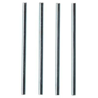 Niceday Letter Tray Riser Rods 8072086 Metal 115 mm Pack of 4