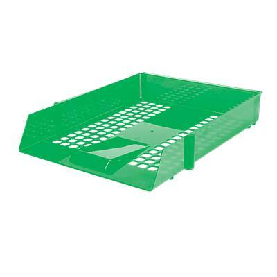 Niceday Letter Tray Plastic Green 25.6 x 35 x 6.7 cm