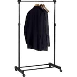 Unilux Coat Rack EXTEND Silver, Black 1,660 x 1,500 x 250 mm
