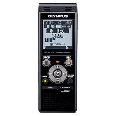 OLYMPUS Digital Audio Recorder WS-853 Black