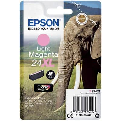 Epson 24XL Original Ink Cartridge C13T24364012 Light Magenta
