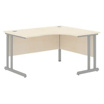 Radial Right Desk Optima C Maple 1,400 x 1,200 x 720 mm
