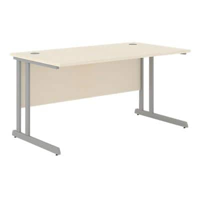 Straight Desk Optima C Maple 1,600 x 800 x 720 mm