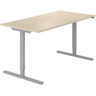 Sit Stand Desk Optima G Beech 1,600 x 800 x 720 mm
