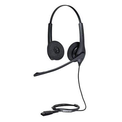 Jabra Headset Biz 1500 QD Duo Black