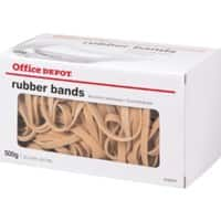 Office Depot Rubber Bands Ø 57 mm 90 x 6 mm 500 g