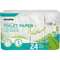 Highmark Toilet Rolls Standard 2 Ply 24 Pieces of 200 Sheets