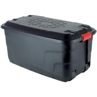 Foray Plastic Storage Box 145 Litre 520 x 940 x 450 mm