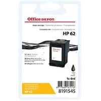 Office Depot Compatible HP 62 Ink Cartridge C2P04AE Black
