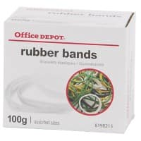 Office Depot Rubber Bands Ø 120 x 1.5 mm 100 g