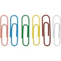 Office Depot Paper Clips Round 33mm Assorted Pack of 500