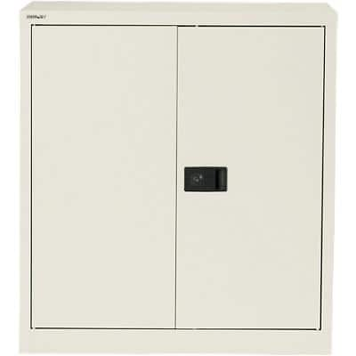 Bisley Regular Door Cupboard Economy White 914 x 400 x 1,000 mm