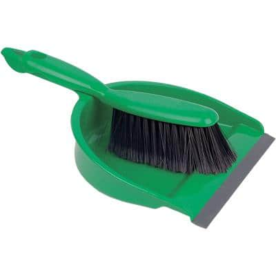 Robert Scott Dustpan and Brush Set Soft Green