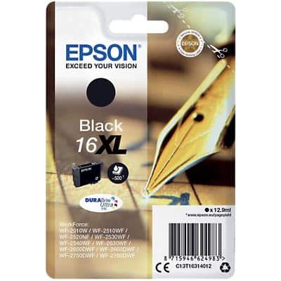 Epson 16XL Original Ink Cartridge C13T16314012 Black