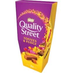 Nestlé Sweets Quality Street Toffee and Fudge 265 g