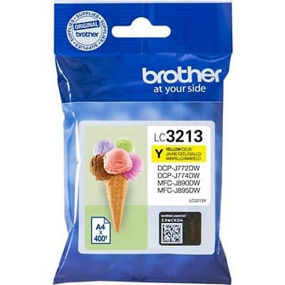 Brother LC3213Y Original Ink Cartridge Yellow