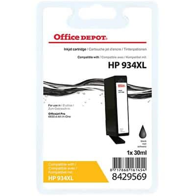 Office Depot Compatible HP 934XL Ink Cartridge C2P23AE Black