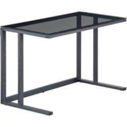 Alphason Office Desk Black 770 x 1,200 x 600 mm