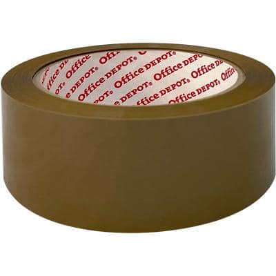Office Depot Packaging Tape 48mm x 66m Brown