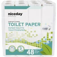 Highmark Toilet Rolls Standard 2 Ply 48 Pieces of 200 Sheets