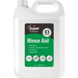 Super Professional Products Rinse Aid unscented 5 l