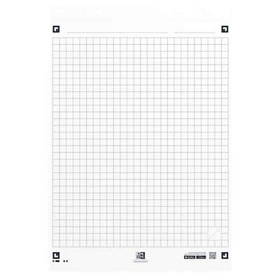 OXFORD Flipchart Pads Smart Chart A1 90gsm Squared 3 Pieces of 20 Sheets