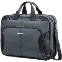 Samsonite Shoulder Bag XBR 15.6 Inch Polyester, Polyurethane Grey 44 x 20.5 x 33 cm