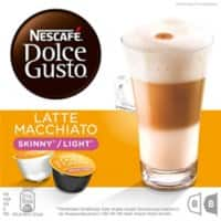 NESCAFÉ Dolce Gusto Latte Macchiato Skinny Coffee Pods Pack of 16