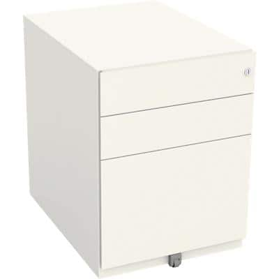 Bisley Pedestal Note White 420 x 565 x 565 mm