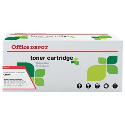 Compatible Office Depot Canon 731 Toner Cartridge Yellow