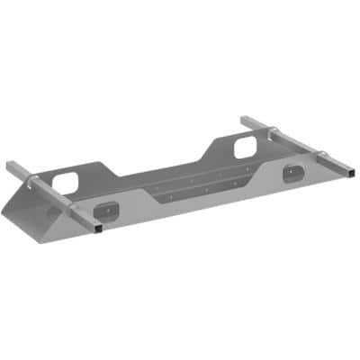Dams International Double Cable Tray Connex Steel 1000 x 300 x 100 mm Silver