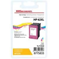 Office Depot Compatible HP 62XL Ink Cartridge C2P07AE 3 Colours