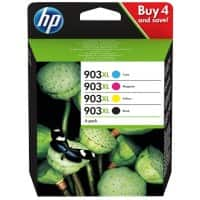 HP 903XL Original Ink Cartridge 3HZ51AE CMYK 4 Pieces
