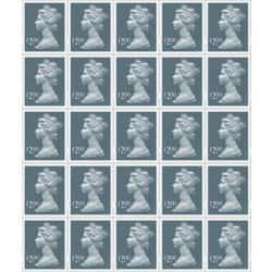 Royal Mail D200 Postage Stamps 25 pieces