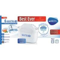 BRITA Water Filter Cartridges Maxtra+ White 6 Pieces
